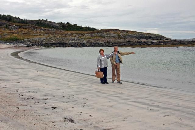 Walking the beach, happy memories?