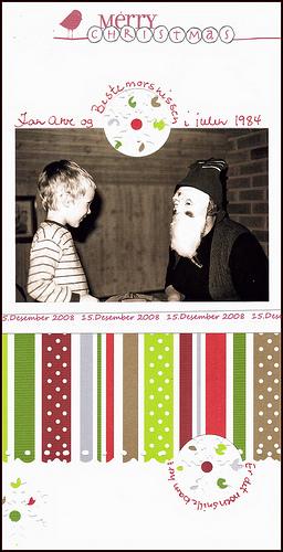 Jan and Santa (grandma) in 1984