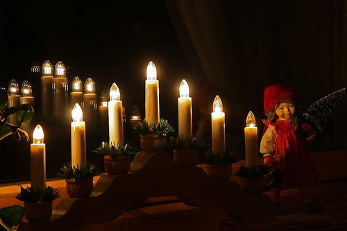 The joy of Christmas...
