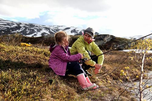 Elin Marie and Kjellaug - Torbudalen 2012