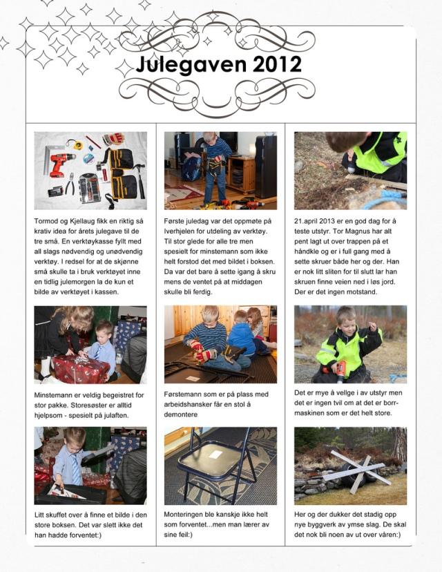 The Christmas gift 2012