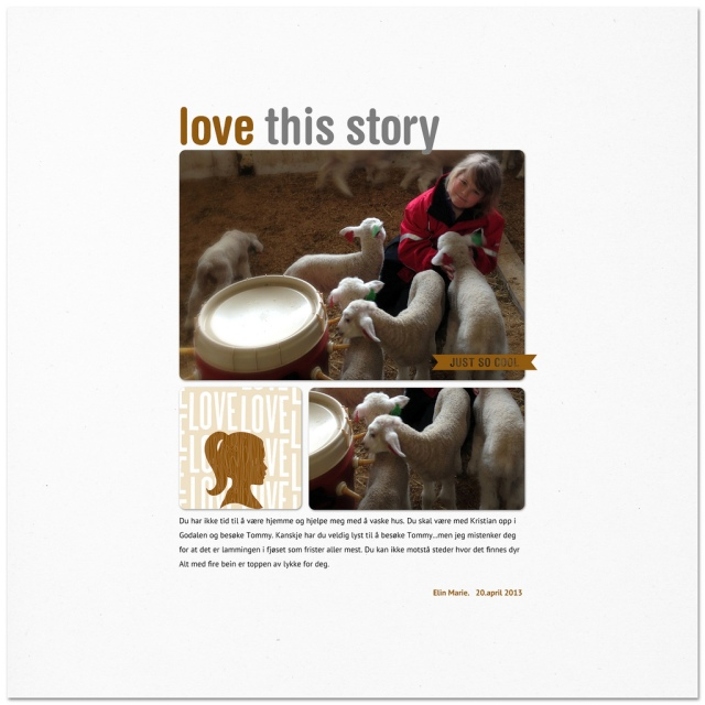 Love this story - Elin Marie