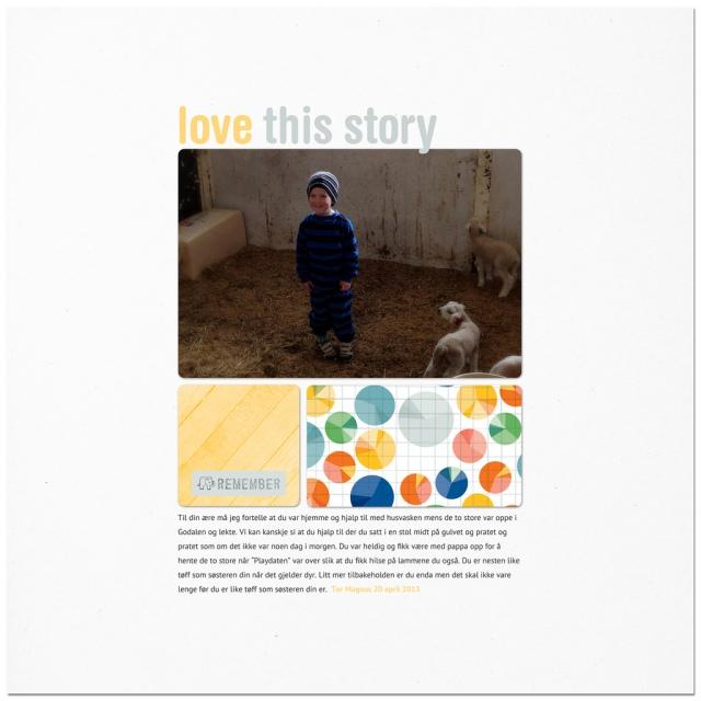 Love this story - Tor Magnus