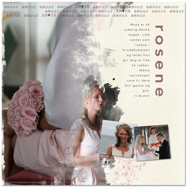 wedding and pinks