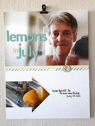 Lemons in July