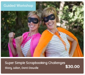 Super Simple Scrapbooking Challenges